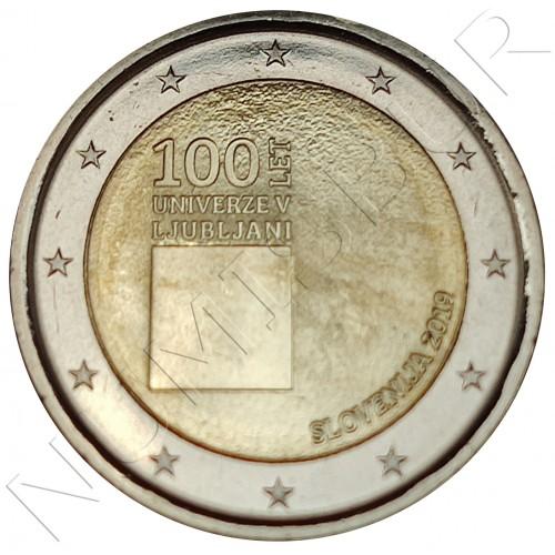 2€ SLOVENIA 2019 - 100 years of the University of Ljubljana