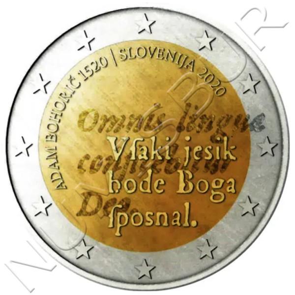 2€ SLOVENIA 2020 - Adam Bohoric