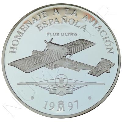 25€ SPAIN 1997 - Tribute to Spanish aviation