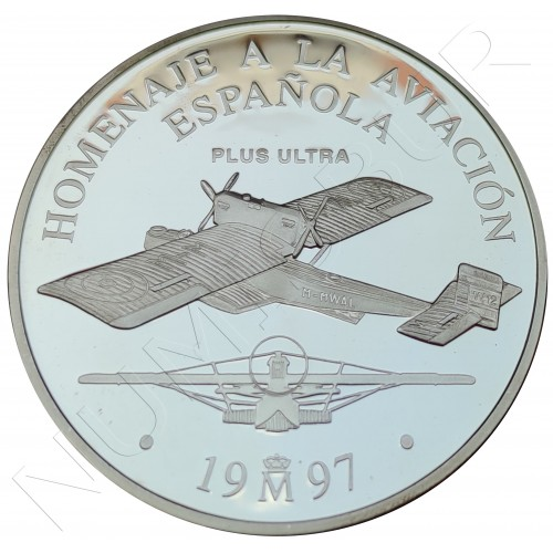 25€ SPAIN 1997 - Tribute to Spanish aviation