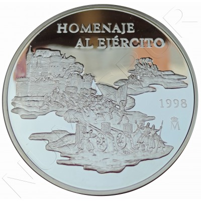 25€ SPAIN 1998 - Tribute to the Army