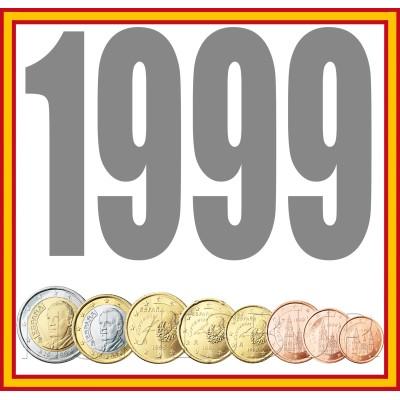 Tira ESPAÑA 1999 - 8 valores