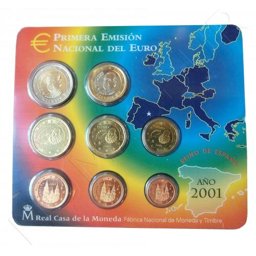 Euroset ESPAÑA 2001 - S/C