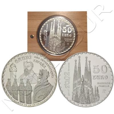 50€ SPAIN 2002 - Gaudi & Sagrada familia