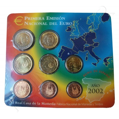 Euroset ESPAÑA 2002 - S/C