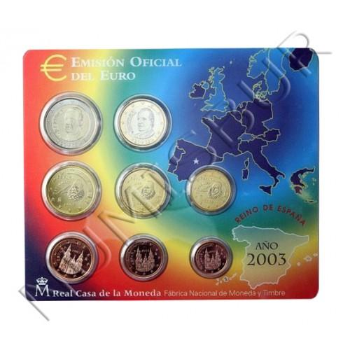 Euroset ESPAÑA 2003 - VARIANTE SIN CODIGO DE BARRAS