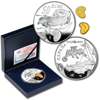 50€ SPAIN 2004 - SALVADOR DALI