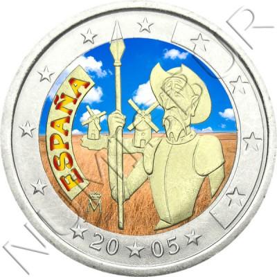 2€ ESPAÑA 2005 - Don Quijote (COLOR)