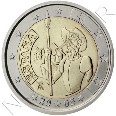 2€ ESPAÑA 2005 - Don Quijote