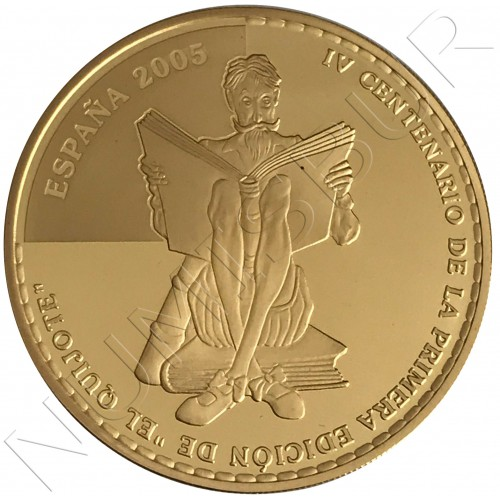 400€ SPAIN 2005 - Don Quixote