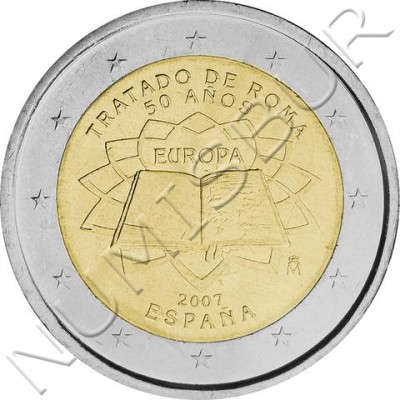 2€ ESPAÑA 2007 - Tratado de Roma