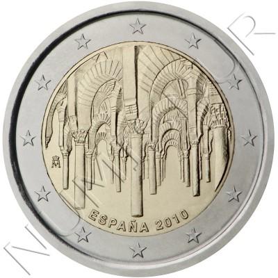 2€ ESPAÑA 2010 - Mezquita Cordoba