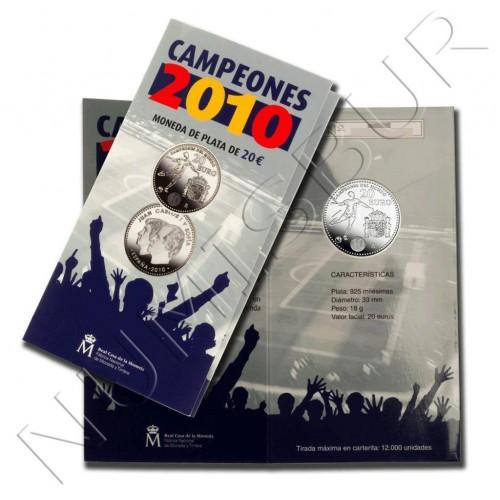 20€ ESPAÑA 2010 - Campeones
