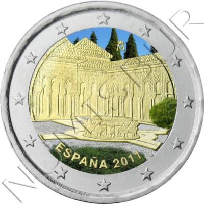 2€ ESPAÑA 2011 - Alhambra de Granada (COLOR)
