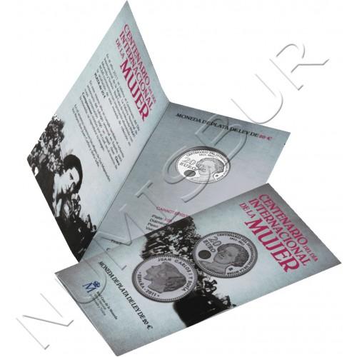 20€ ESPAÑA 2011 - Centenario del Día de la Mujer