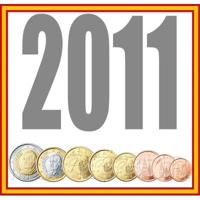 Tira ESPAÑA 2011 - 8 valores