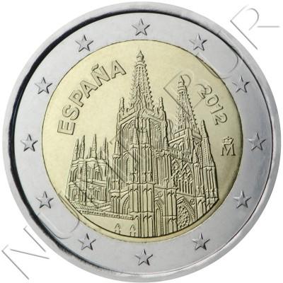 2€ ESPAÑA 2012 - Catedral Burgos