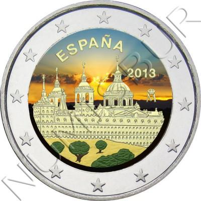 2€ ESPAÑA 2013 - Escorial (COLOR)