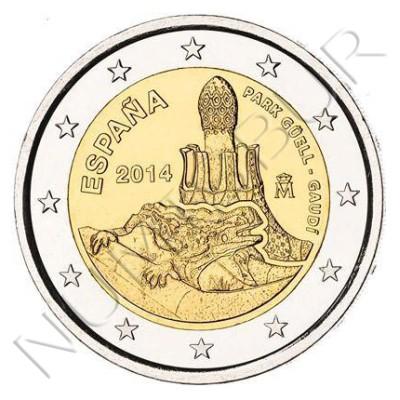 2€ ESPAÑA 2014 - Parque Guell