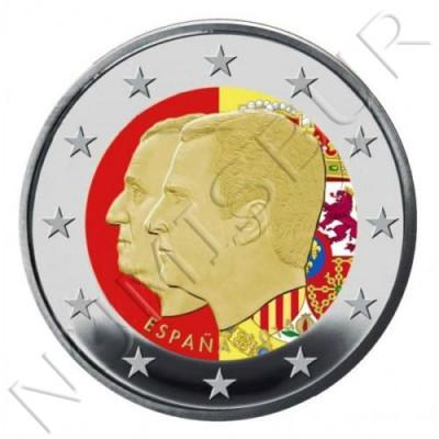 2€ ESPAÑA 2014 - Cambio de trono (COLOR)