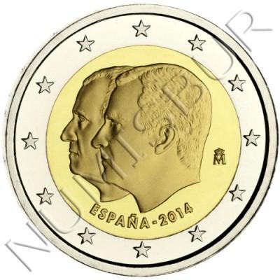 2€ ESPAÑA 2014 - Cambio de trono