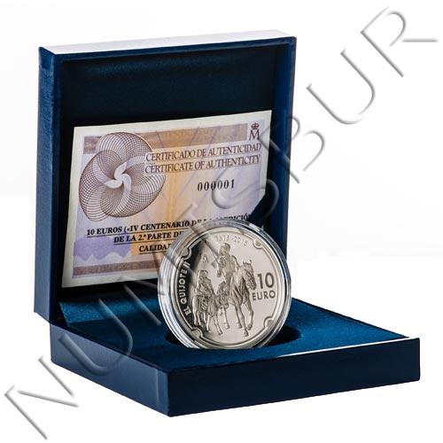 10€ ESPAÑA 2015 - Quijote