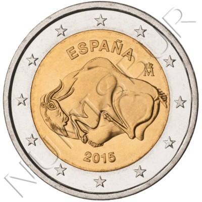 2€ ESPAÑA 2015 - Cueva de Altamira