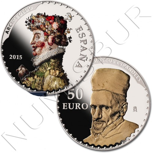 ESPAÑA 2015 - Serie III Tesoros numismaticos