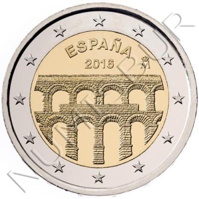 2€ ESPAÑA 2016 - ACUEDUCTO SEGOVIA