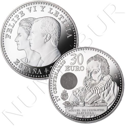 30€ ESPAÑA 2016 - IV Centenario muerte Cervantes