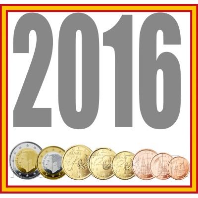 Tira ESPAÑA 2016 - 8 valores