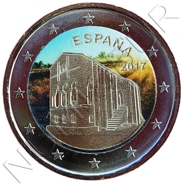 2€ ESPAÑA 2017 - Iglesia de Santa Maria del Naranco (color)