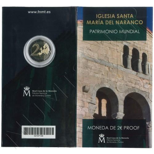 2€ SPAIN 2017 - Church of Santa María del Naranco (PROOF)