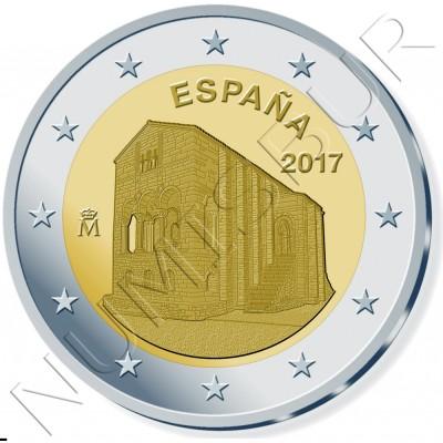 2€ ESPAÑA 2017 - Iglesia de Santa Maria del Naranco