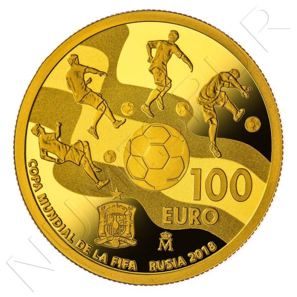 100€ ESPAÑA 2017 - Copa Mundial de la FIFA Rusia 2018