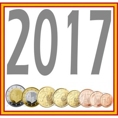 Tira ESPAÑA 2017 - 8 valores