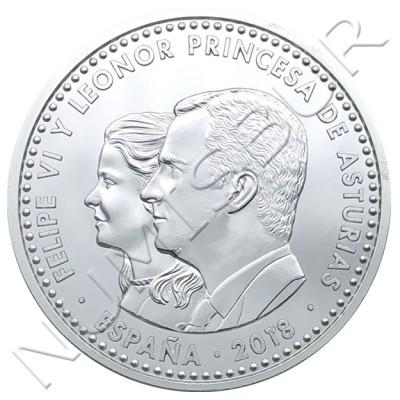 30€ ESPAÑA 2018 - 1300 aniversario reino de austurias