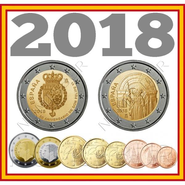 Tira ESPAÑA 2018 - 10 valores