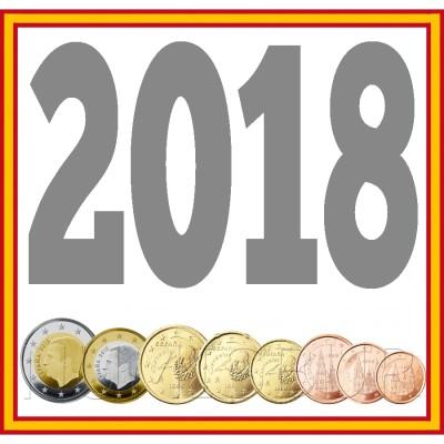 Tira ESPAÑA 2018 - 8 valores
