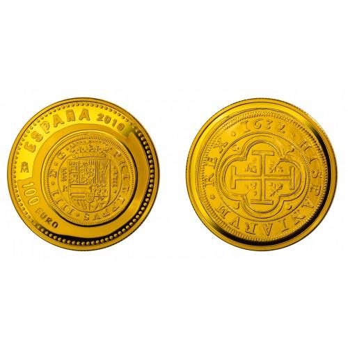 100€ ESPAÑA 2019 - IX Serie Joyas numismaticas Casa Austria