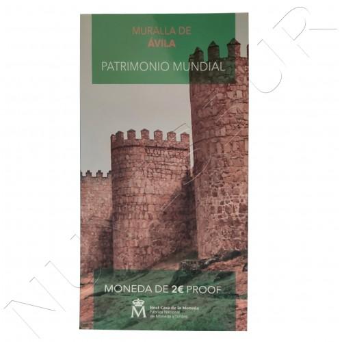 2€ ESPAÑA 2019 - Muralla Avila (PROOF)