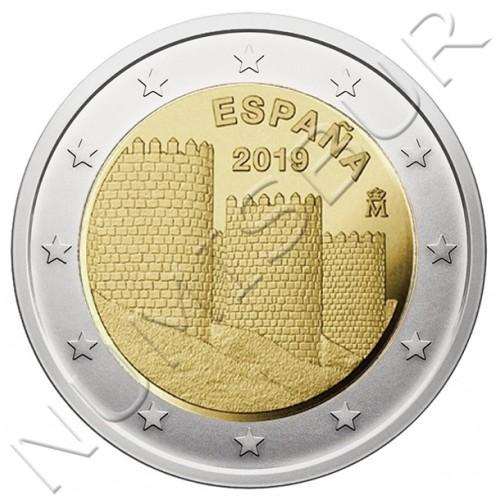 2€ ESPAÑA 2019 - Muralla de Avila