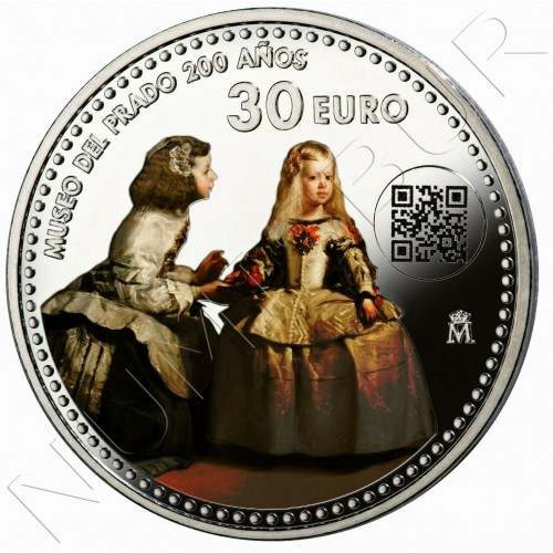 30€ SPAIN 2019 - Bicentennial of the Prado Museum