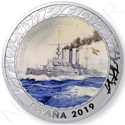 1.5€ SPAIN 2019 - Crucero Acorazado Carlos V