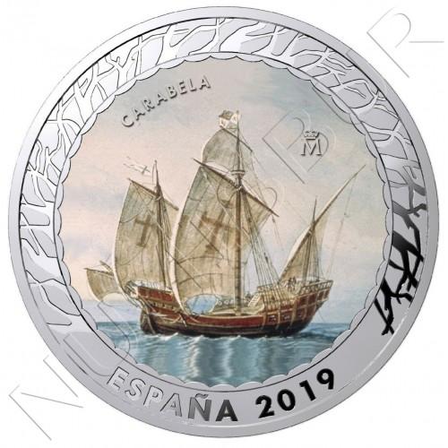 1.5€ SPAIN 2019 - Carabela  3th series