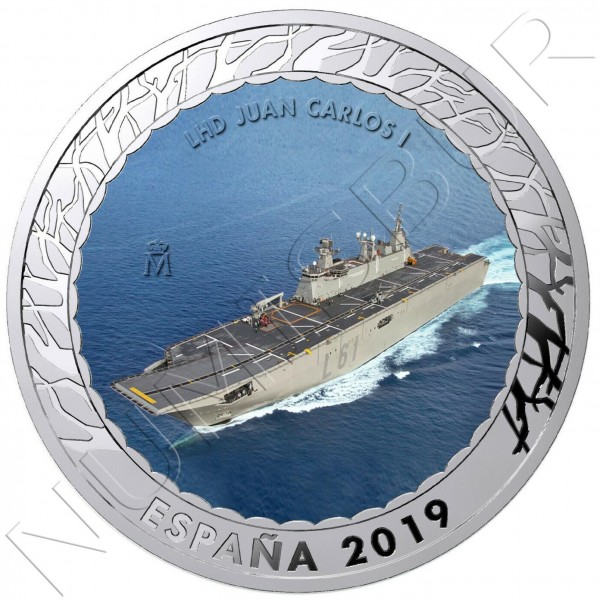 1.5€ SPAIN 2019 - LHD Juan Carlos I 3th series