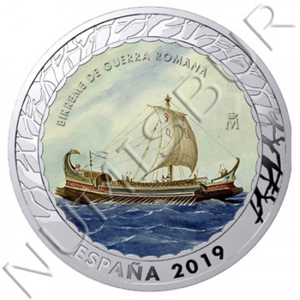 1.5€ SPAIN 2019 - Birreme de Guerra Romana 4th series