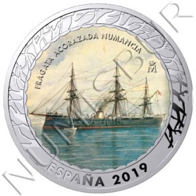 1.5€ SPAIN 2019 - Fragata Acorazada Numancia 4th series