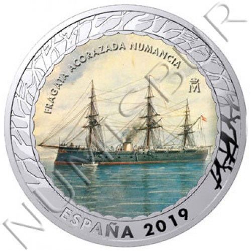 1.5€ SPAIN 2019 - Fragata Acorazada Numancia 4th series