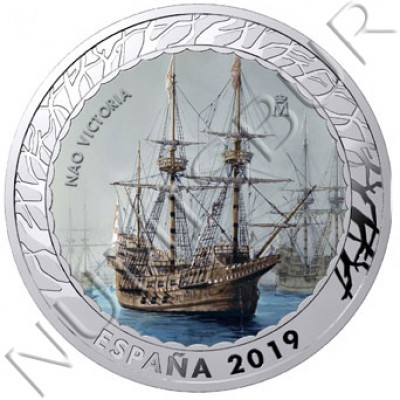 1.5€ SPAIN 2019 - Nao Victoria 4th series